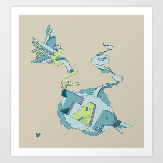 Tap Art Print