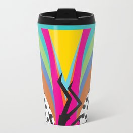 .Falling Metal Travel Mug