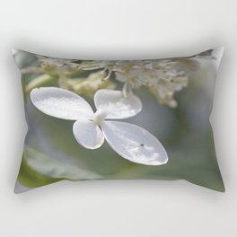 4 petal flower Rectangular Pillow