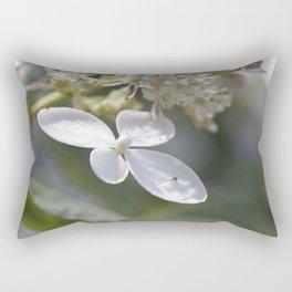 4 petal flower Rectangular Pillow