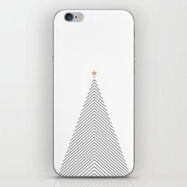 Minimal Christmas Tree #society6 #decor #buyart iPhone Skin