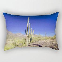 Carefree Cactus Rectangular Pillow