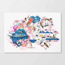 Dagat Canvas Print