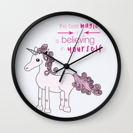 Unicorn Believes Wall Clock