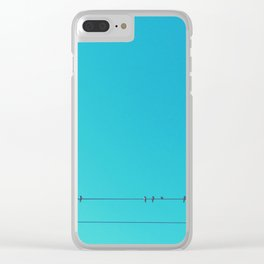 The Outsider Clear iPhone Case