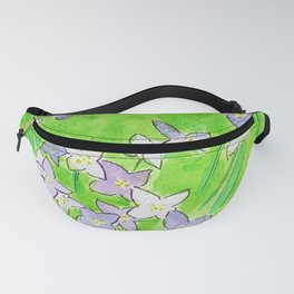 Innocence (Bluets, Quaker-Ladies) Fanny Pack