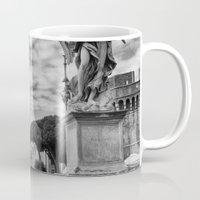 rome Mugs featuring Rome by unaciertamirada