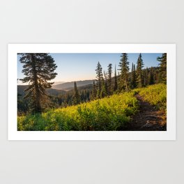 Fairy Lake Sunrise Art Print