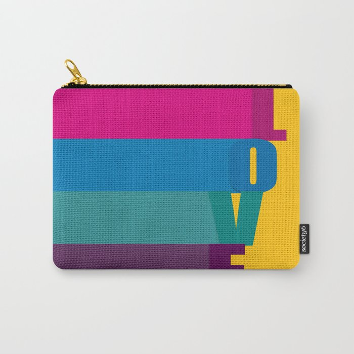The love is colorful Carry-All Pouch