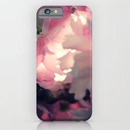 sakura - close up - three iPhone Case