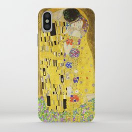 The Kiss - Gustav Klimt, 1907 iPhone Case