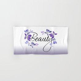 Beauty Hand & Bath Towel