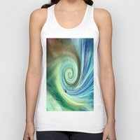 surf Tank Tops featuring Surf by  Agostino Lo Coco