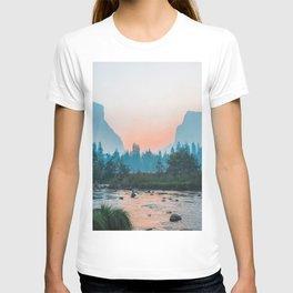 Pastel Yosemite #society6 #buyart T-shirt