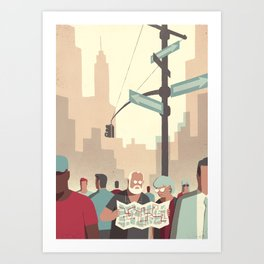 Day Trippers #2 - Lost Art Print