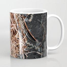 Fresh Quail Eggs in Nest Coffee Mug