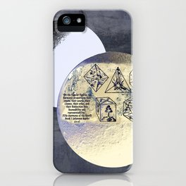 Kepler and his machinations iPhone Case