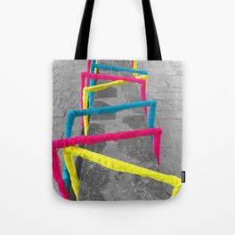 Noise Lines Tote Bag