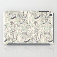 shopping iPad Cases featuring Paris Shopping by RED ROAD STUDIO
