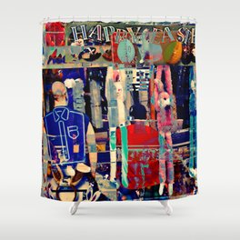 HOLIDAY EXPERIENCE #1126 Shower Curtain
