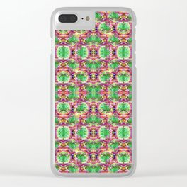 Blended Botanical Clear iPhone Case