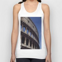 rome Tank Tops featuring Rome by  Eggplant