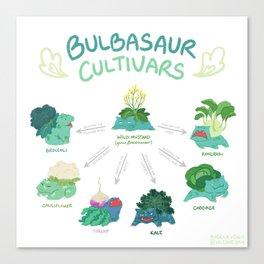 Brassicasaur Cultivars Canvas Print