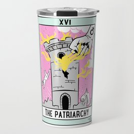 The Cards Say Smash the Patriarchy Travel Mug