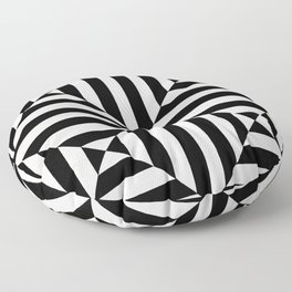 Original geometric design by Dominic Joyce Floor Pillow