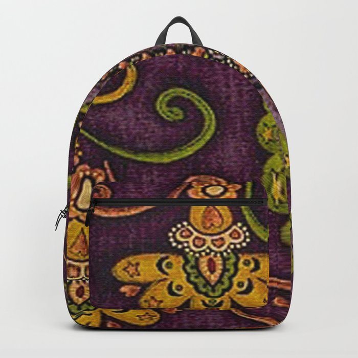 Floral Paisley Pattern 06 Backpack