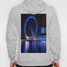 London Eye at Night Hoody