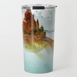 Goldfish Castle Travel Mug