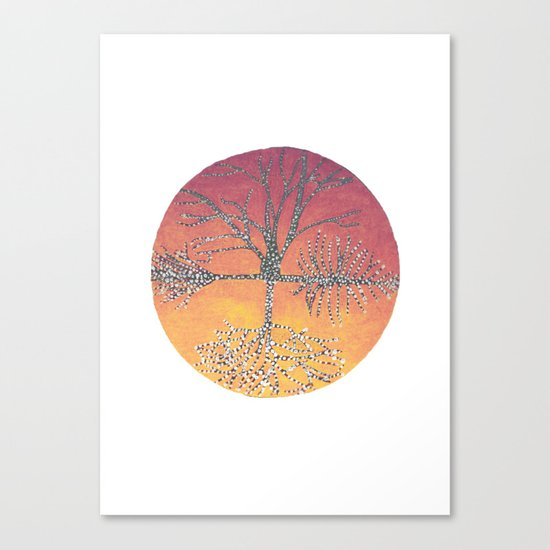 Connected Canvas Print
