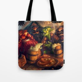 Once Upon a Time in The Tavern Tote Bag