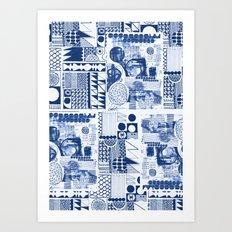 Mittela Pattern Art Print