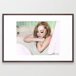 Private in Public Framed Art Print