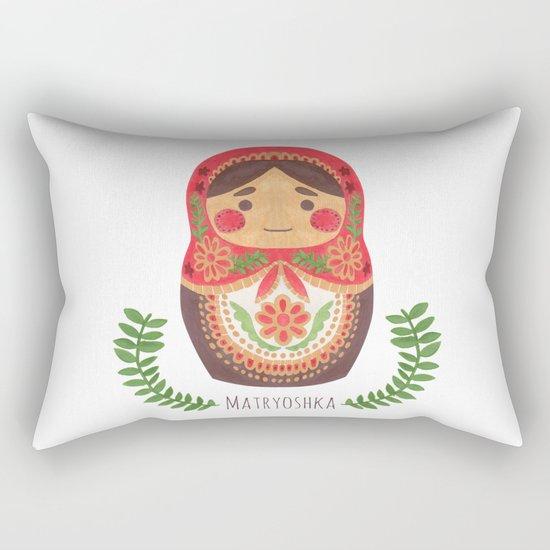 Matryoshka Doll Rectangular Pillow
