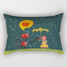 I Love You! Rectangular Pillow
