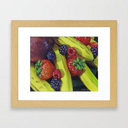 Fruit Bunch Framed Art Print