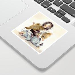 Niffler babies Sticker
