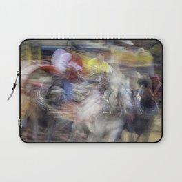 Chuckwagon races; Speed and Chaos Laptop Sleeve