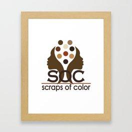 Scraps of Color Limited Edition II T-shirt Framed Art Print