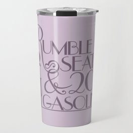 Rumble Seats Travel Mug