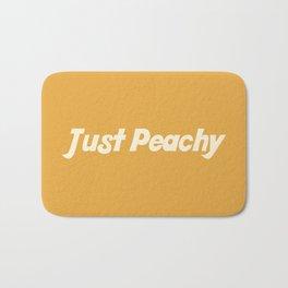 Just Peachy Bath Mat