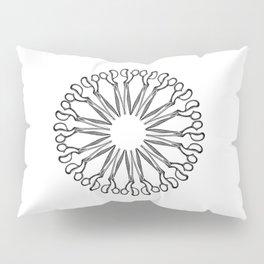 Scissor Eye Pillow Sham