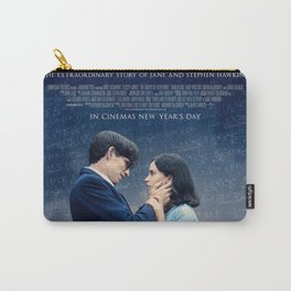stephen hawking movie poster Carry-All Pouch