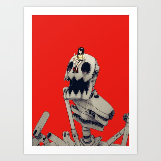 Tear Thief Art Print