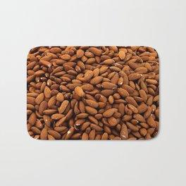 Almonds Nuts pattern Bath Mat