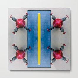 Abstract Series AN 08 Metal Print