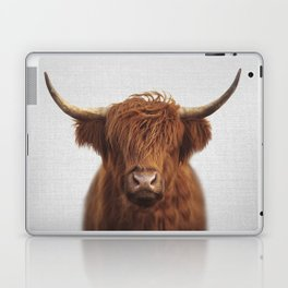 Highland Cow - Colorful Laptop & iPad Skin